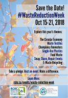 Waste Reduction Week 2018 Poster 3